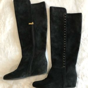 Isola Tall Suede Boots - NEVER WORN